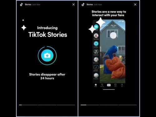 TikTok experiments with Stories that last 24 hours like Snapchat videos