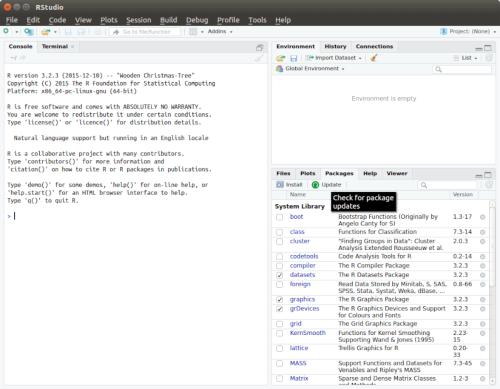 How to set up RStudio IDE on Linux