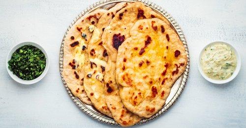 La recette du cheese naan de Stéphanie Le Quellec