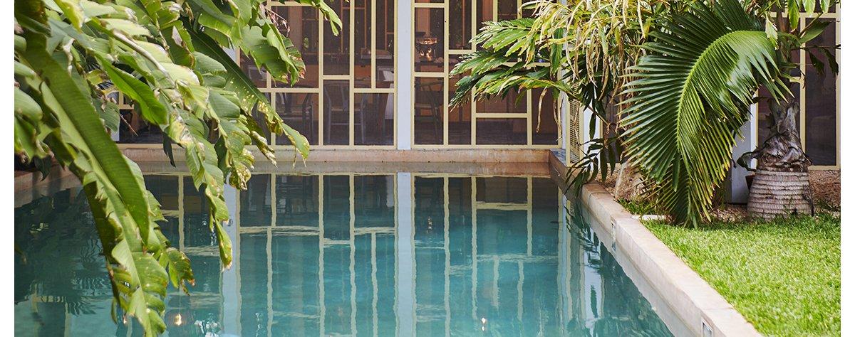 Les plus belles piscines privées publiées dans AD