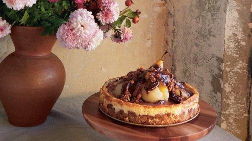 La recette inratable du cheesecake poire chocolat