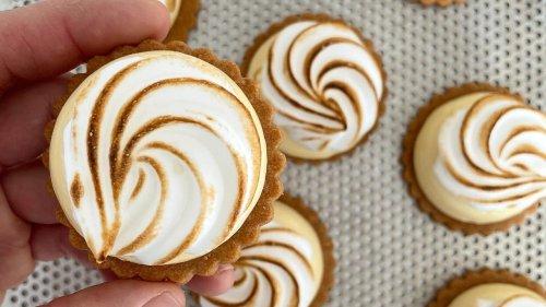 La recette de la tartelette au citron d'un chef pâtissier