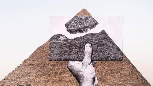 JR crée de nouveau l'illusion au cœur des pyramides d'Égypte