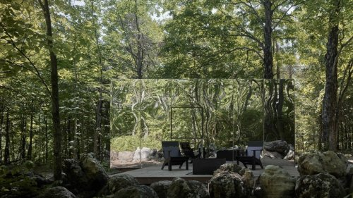 3 maisons-miroir au design futuriste