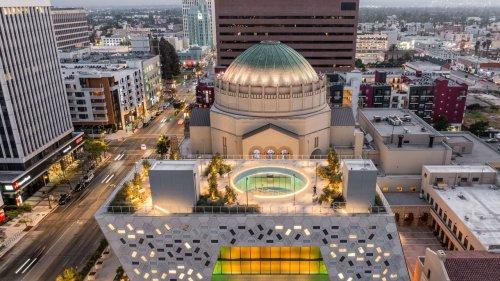 OMA signe le pavillon futuriste d'une synagogue à Los Angeles
