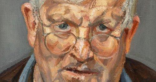 Un portrait de David Hockney par Lucian Freud est estimé à plus de 11 millions de dollars