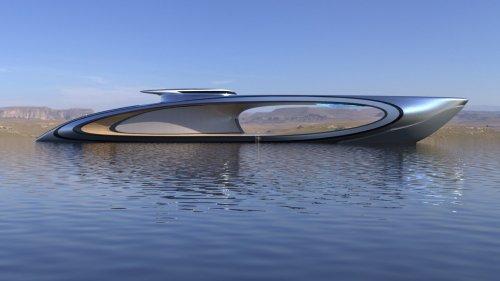 Visite du Shape, le nouveau superyacht futuriste au design étonnant