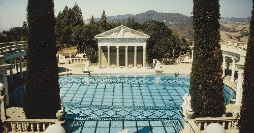 La piscine mythique de Hearst Castle en quelques clichés vintage