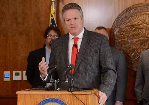 Alaska Gov. Dunleavy unveils new-look dividend plan with guaranteed payments but a substantial deficit remains