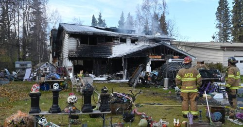 Woman charged with arson in West Anchorage home fire