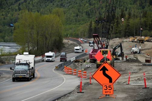 Federal infrastructure bill proposes billions of dollars for Alaska highways, ferries, broadband and sanitation projects