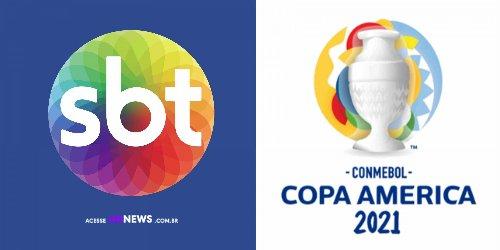 Quatro marcas patrocinam a CONMEBOL Copa América 2021 no SBT