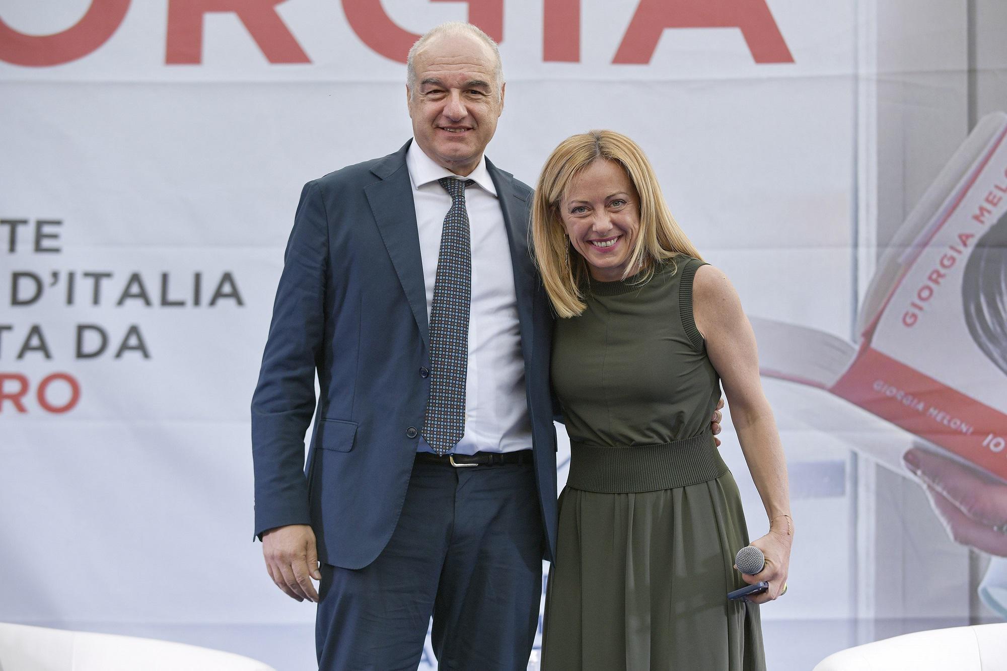 """Comunali Roma, Meloni: """"Romani si fidino di me, Michetti grande figura"""""""