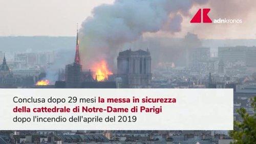 Francia, conclusa messa in sicurezza Notre Dame