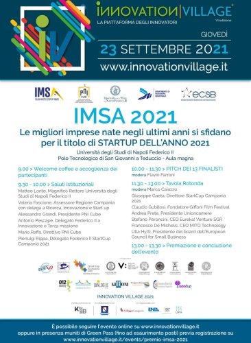 Startup, selezionate 13 finaliste all'Italian Master Startup Award 2021