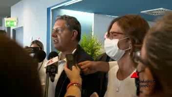 Il Ministro Maria Stella Gelmini al Salone Nautico di Genova