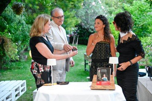 A Venezia premio Kineo Arte e Letteratura a Karine Tuil per 'Le cose umane'