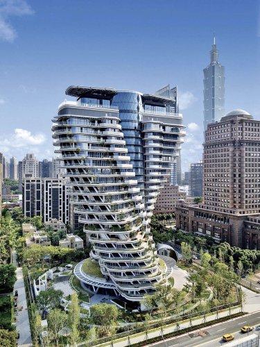 Tao Zhu Yin Yuan Apartment Building / Vincent Callebaut Architectures