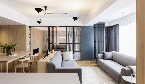 Apartment in Bucharest / rosu-ciocodeica