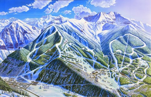 You Can Buy a Piece of Ski Art History With a James Niehues Original