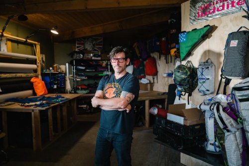 The Coolest Prof on Campus is Luddite Backpack Builder John Campbell