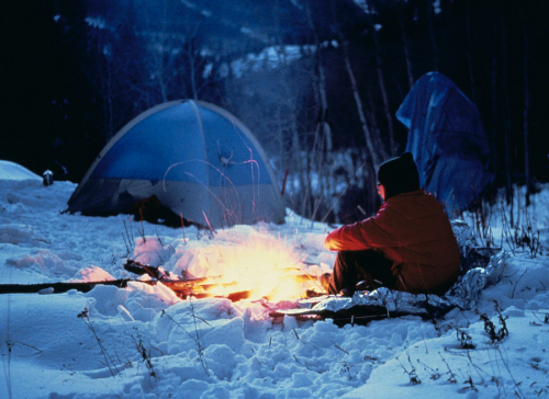 If You Don't Already, You, Too, Can Learn to Love Snow Camping