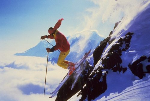 Steep Skiing Pioneer Patrick Vallençant's Motto Was: You Fall, You Die