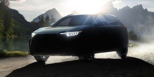Subaru Slyly Reveals the Solterra, Their Long-Rumored Electric SUV