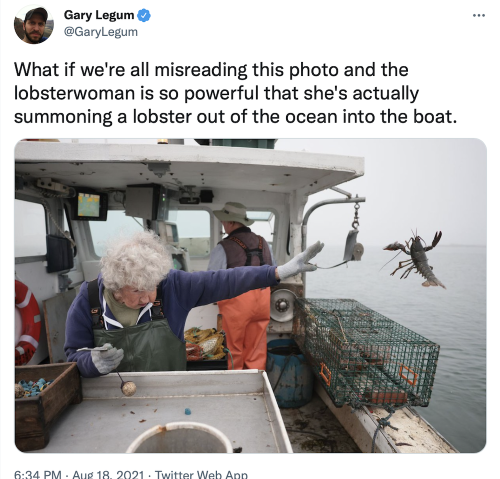 Lobsterwoman Gone Viral Is 101-Year-Old Seagoing Badass