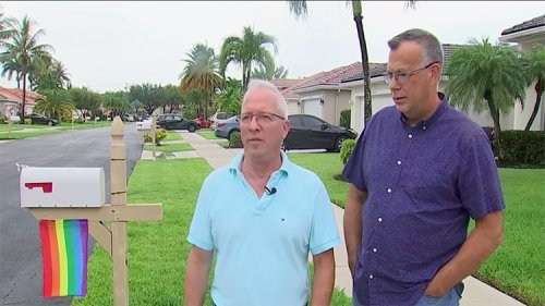 Florida Couple Refuses to Remove Pride Flag Despite HOA Demands