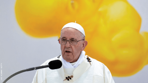 Pope Francis: No to Same-Sex Marriage, Also Opposes Condemning LGBTQ+
