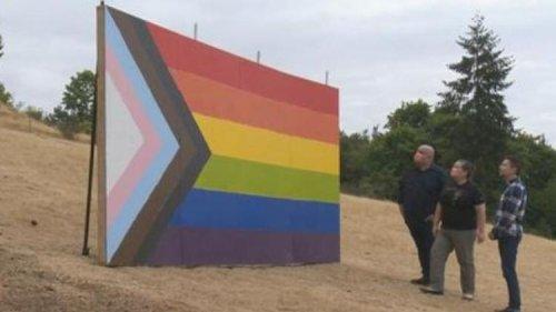 Farmers Erect Huge Pride Flag After School Bans LGBTQ+, BLM Symbols