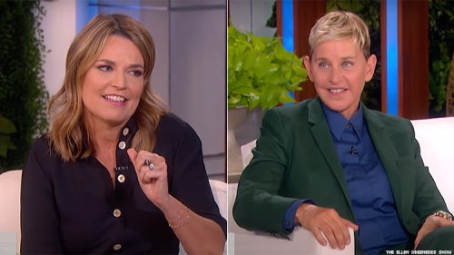 Ellen DeGeneres's 'Fun' Scares Caused Savannah Guthrie 'Real Tears'