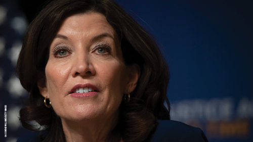 How New York Gov. Kathy Hochul Makes a Change From Cuomo