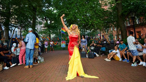 Sunday at Stonewall Park With Monet and Miss Simone