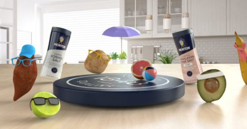 Morton's AR App Will Have Veggies Dancing in Your Kitchen