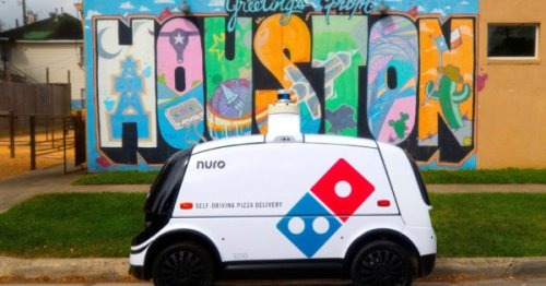 Domino's Is Piloting Driverless Pizza Delivery in Houston