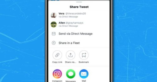 Twitter Enables iOS Users to Share Tweets to Instagram Stories
