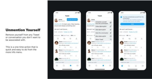 Twitter Tests Ways for Users to Untag, Unmention Themselves From Tweets, Conversations