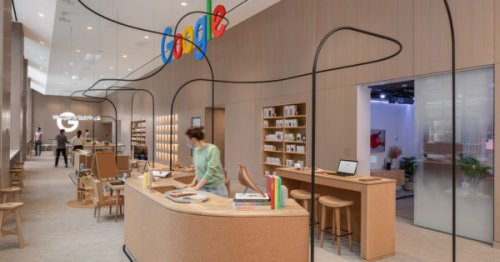 Inside Google's First Permanent Retail Space