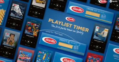 Barilla Has a New Timer for Perfect Pasta: Your Spotify