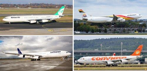 Vom Aussterben bedroht: Wo man noch Airbus A340 fliegen kann
