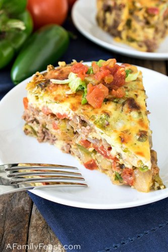 Tex-Mex Beef and Sausage Pie