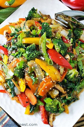 Stir Fry Vegetables - A Family Feast®