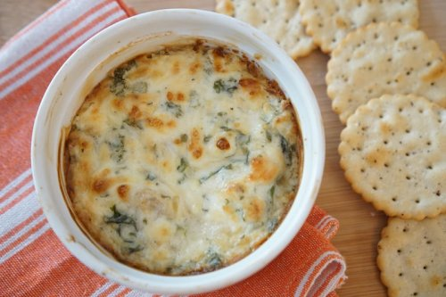 Outrageously Good Spinach Artichoke Dip