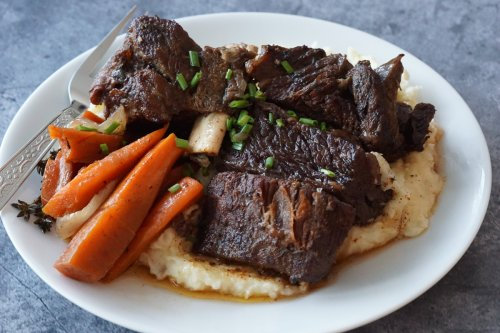 Beef Short Ribs in the Instant Pot