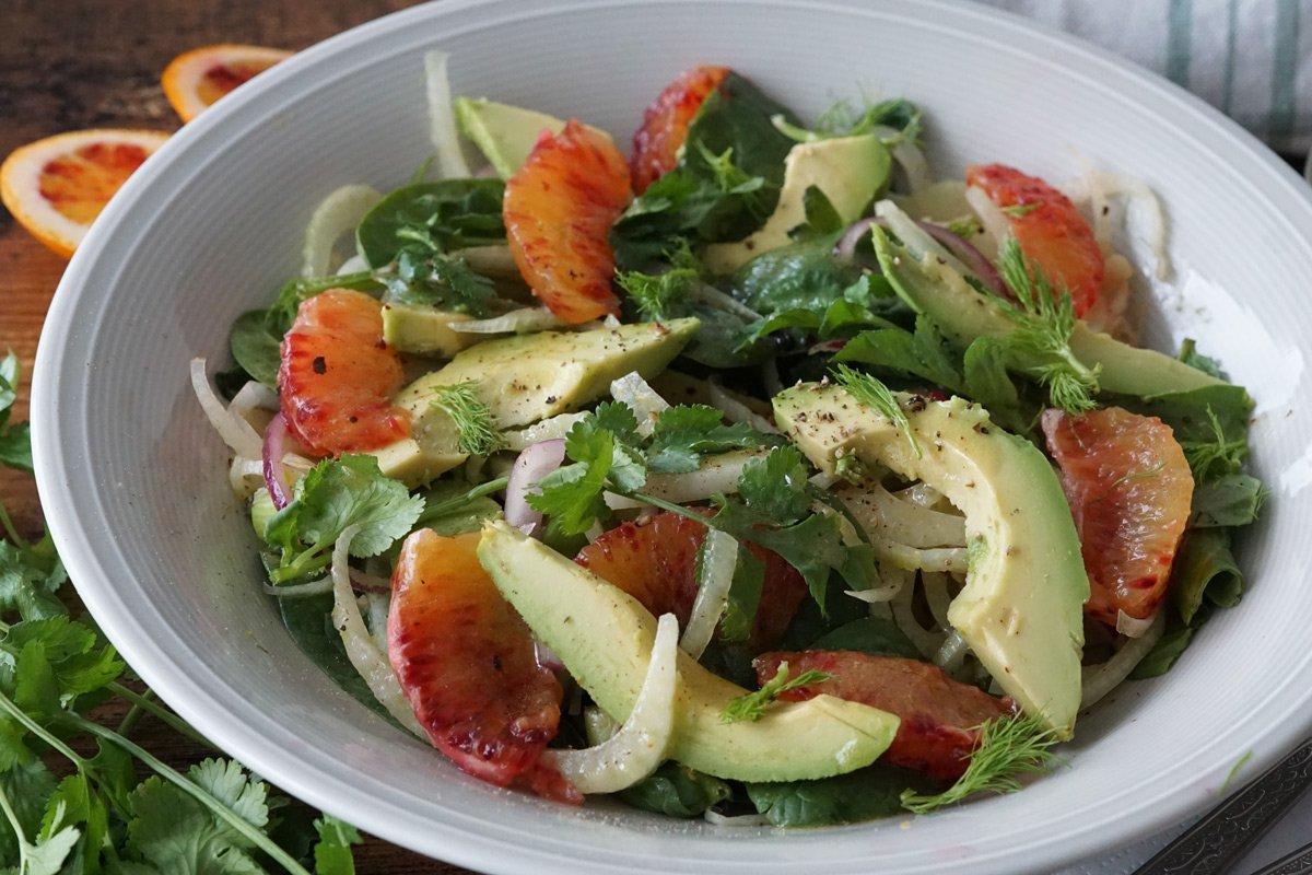 Fennel, Avocado and Blood Orange Salad