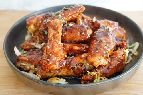 Sweet & Spicy Korean BBQ Wings