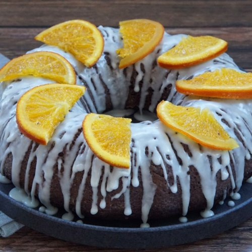 Delicious Chocolate Orange Cake