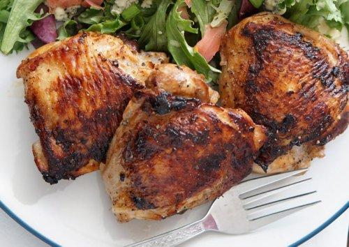 Marinated Grilled Chicken Thighs